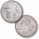 ETATS UNIS / USA - PIECE de 25 Cents (Quarter States) - Guam - 2009 - D