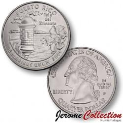 ETATS UNIS / USA - PIECE de 25 Cents (Quarter States) - Puerto Rico- 2009 - P