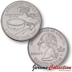 ETATS UNIS / USA - PIECE de 25 Cents (Quarter States) - Samoa américaines - 2009 - D