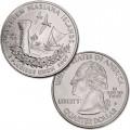 ETATS UNIS / USA - PIECE de 25 Cents (Quarter States) - Îles Mariannes du Nord - 2009 - D