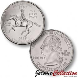 ETATS UNIS / USA - PIECE de 25 Cents (Quarter States) - Delaware - 1999 - D
