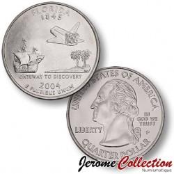 ETATS UNIS / USA - PIECE de 25 Cents (Quarter States) - Floride - 2004 - P