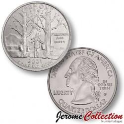 ETATS UNIS / USA - PIECE de 25 Cents (Quarter States) - Vermont - 2001 - P
