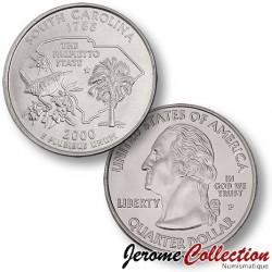 ETATS UNIS / USA - PIECE de 25 Cents (Quarter States) - Caroline du Sud - 2000 - P
