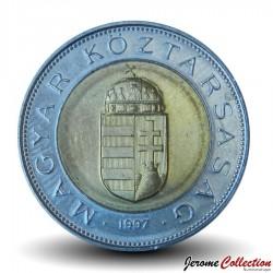 HONGRIE - PIECE de 100 FORINT - Armoiries de la Hongrie - 1997 Km#721