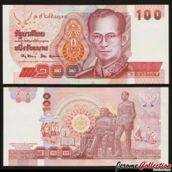 THAILANDE - Billet de 100 Baht - 1994