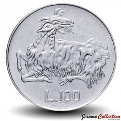 SAINT-MARIN - PIECE de 100 Lire - Chèvre Stylisée - 1974
