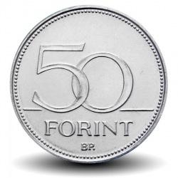 HONGRIE - 50 FORINT - Faucon - 2014