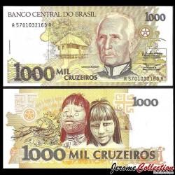 BRESIL - Billet de 1000 Cruzeiros - 1990 P231a