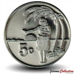 TOKELAU - PIECE de 5 Cents - 2012 Km#New