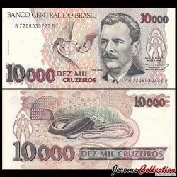 BRESIL - Billet de 10000 Cruzeiros - 1993 P233c