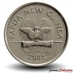 PAPOUASIE NOUVELLE GUINEE - PIECE de 10 Toea - Marsupial Couscous - 2005