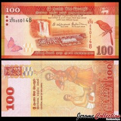 SRI LANKA - Billet de 100 Roupies - 2016