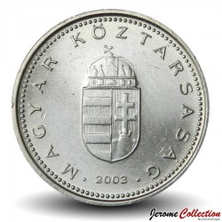 HONGRIE - PIECE de 1 Forint - Armoiries de la Hongrie - 2003 Km#692