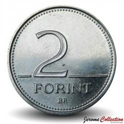 HONGRIE - PIECE de 2 Forint - Colchique hongrois - 2001