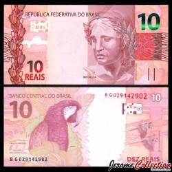BRESIL - Billet de 10 Reais - 2010