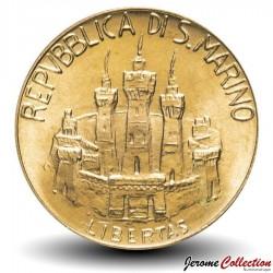 SAINT-MARIN - PIECE de 20 Lires - Louis Pasteur - 1984