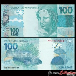 BRESIL - Billet de 100 Reais - 2010