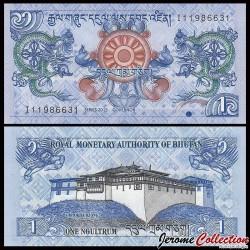 BHOUTAN - Billet de 1 Ngultrum 2013