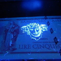 VATICAN - Billet de 500 Lire - Pape Francois - 2014