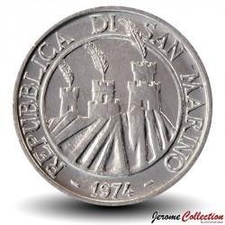 SAINT-MARIN - PIECE de 1 Lire - Fourmi - 1974
