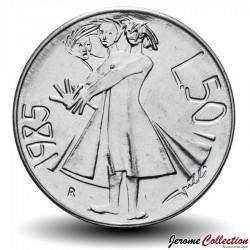 SAINT-MARIN - PIECE de 50 Lires - 1985 Km#178