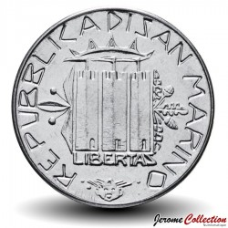 SAINT-MARIN - PIECE de 50 Lires - 1985