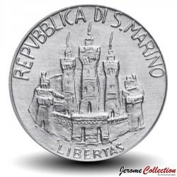 SAINT-MARIN - PIECE de 10 Lires - Alessandro Volta - 1984