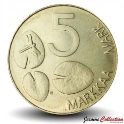 FINLANDE - PIECE de 5 Markkaa - Phoque annelé - 1999