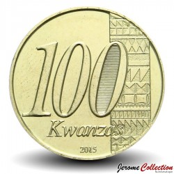 ANGOLA - PIECE de 100 KWANZAS - Anniversaire de l'indépendance - 2015 Km#113