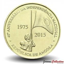ANGOLA - PIECE de 100 KWANZAS - Anniversaire de l'indépendance - 2015