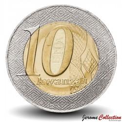 ANGOLA - PIECE de 10 KWANZAS - Armoiries de l'Angola - 2012
