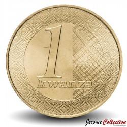 ANGOLA - PIECE de 1 Kwanza- Logo de la Banque nationale d'Angola - 2012