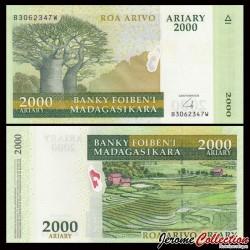 MADAGASCAR - Billet de 2000 Ariary - 2007