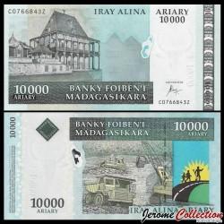 MADAGASCAR - Billet de 10000 Ariary - 2015 P92c