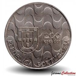 PORTUGAL - PIECE de 200 Escudos - Presidence de la Communauté Européenne - 1992