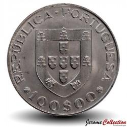PORTUGAL - PIECE de 100 Escudos - Année internationale des personnes handicapées - 1981
