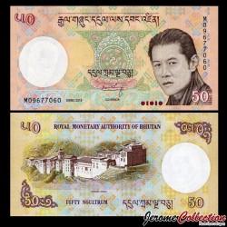 BHOUTAN - Billet de 50 Ngultrum 2013