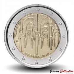 ESPAGNE - PIECE de 2 Euro - Centre historique de Cordoue - 2010 Km#1152