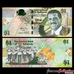 BAHAMAS - Billet de 1 Dollar - 2015