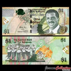 BAHAMAS - Billet de 1 Dollar - 2015 P71Aa