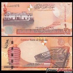 BAHREIN - Billet de 1/2 Dinar- 2006