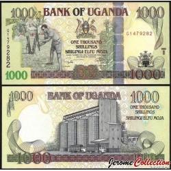 OUGANDA - Billet de 1000 Shillings - Silo à grains - 2009 P43d