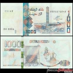 ALGERIE - Billet de 1000 Dinars - Grande mosquée d'Alger - 01.12.2018