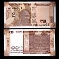 INDE - Billet de 10 Roupies - Gandhi - 2018 P109e