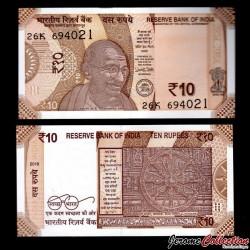 INDE - Billet de 10 Roupies - Gandhi - 2018