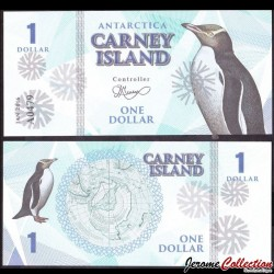 CARNEY ISLAND / ANTARCTIQUE - Billet de 1 DOLLAR - 2016