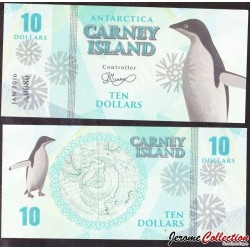 CARNEY ISLAND / ANTARCTIQUE - Billet de 10 DOLLARS - 2016