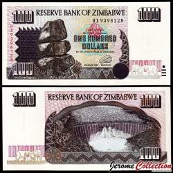 ZIMBABWE - Billet de 100 DOLLARS - 1995