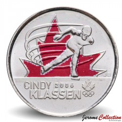 CANADA - PIECE de 25 CENTS - Salt Lake City - Cindy Klassen - 2009 Km#1065a